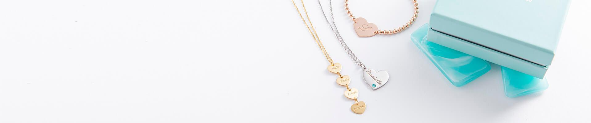 heart jewelry web banner
