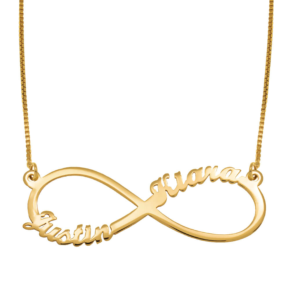 Infinity-2-Names-Necklace-gold